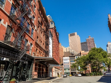 The most expensive blocks for NYC rentals are in Soho and Tribeca