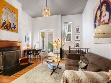 In the East Village, a Two-Bedroom Duplex with a Garden Wants $995K